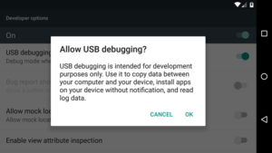 Enable USB Debugging on a Broken Android Device's Screen?