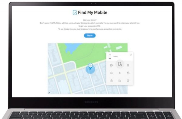 Samsung Factory Reset Using Find My Mobile