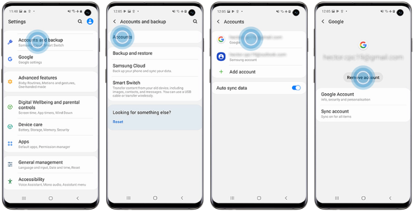 Removing Google's Factory Reset Protection (FRP)